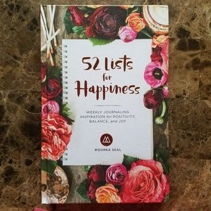 52 Lists for Happiness: Weekly Journaling NEW